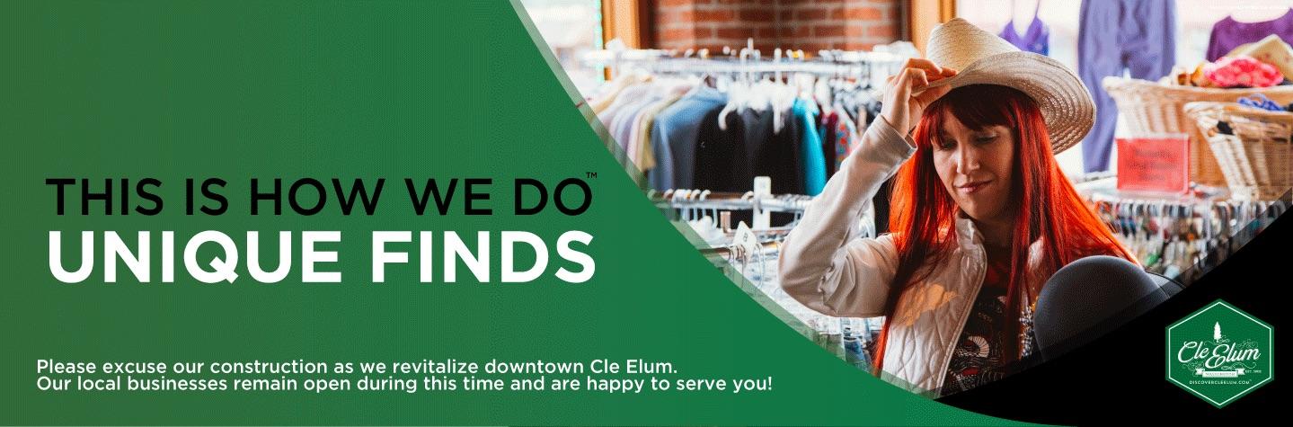 cle,elum,shop