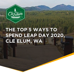 Leap Year, 2020 in Cle Elum